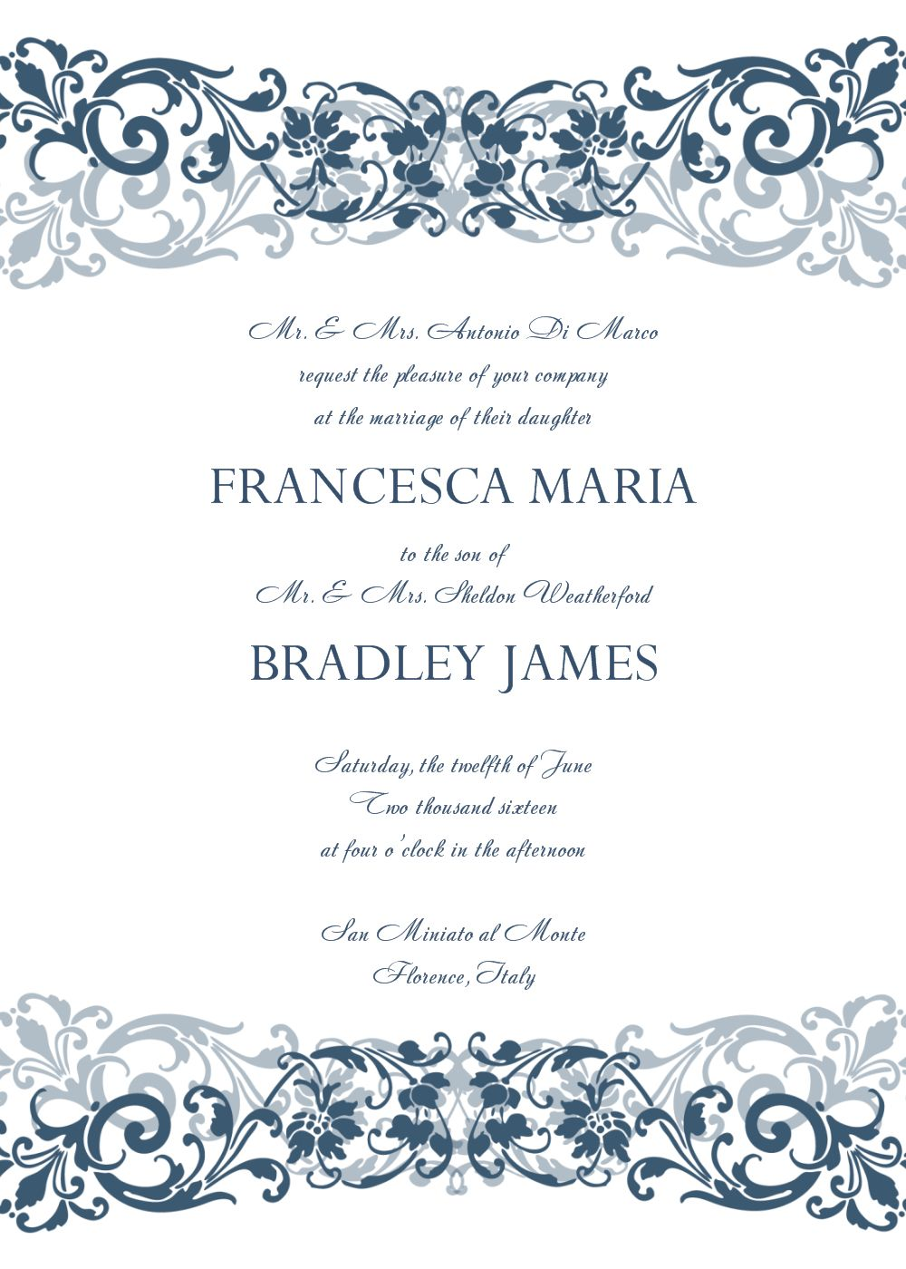 Invitation Template Word Captivating Coolnew The Wedding Invitation Templates Word Templates Check More .