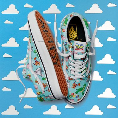 vans shoes toy story collection