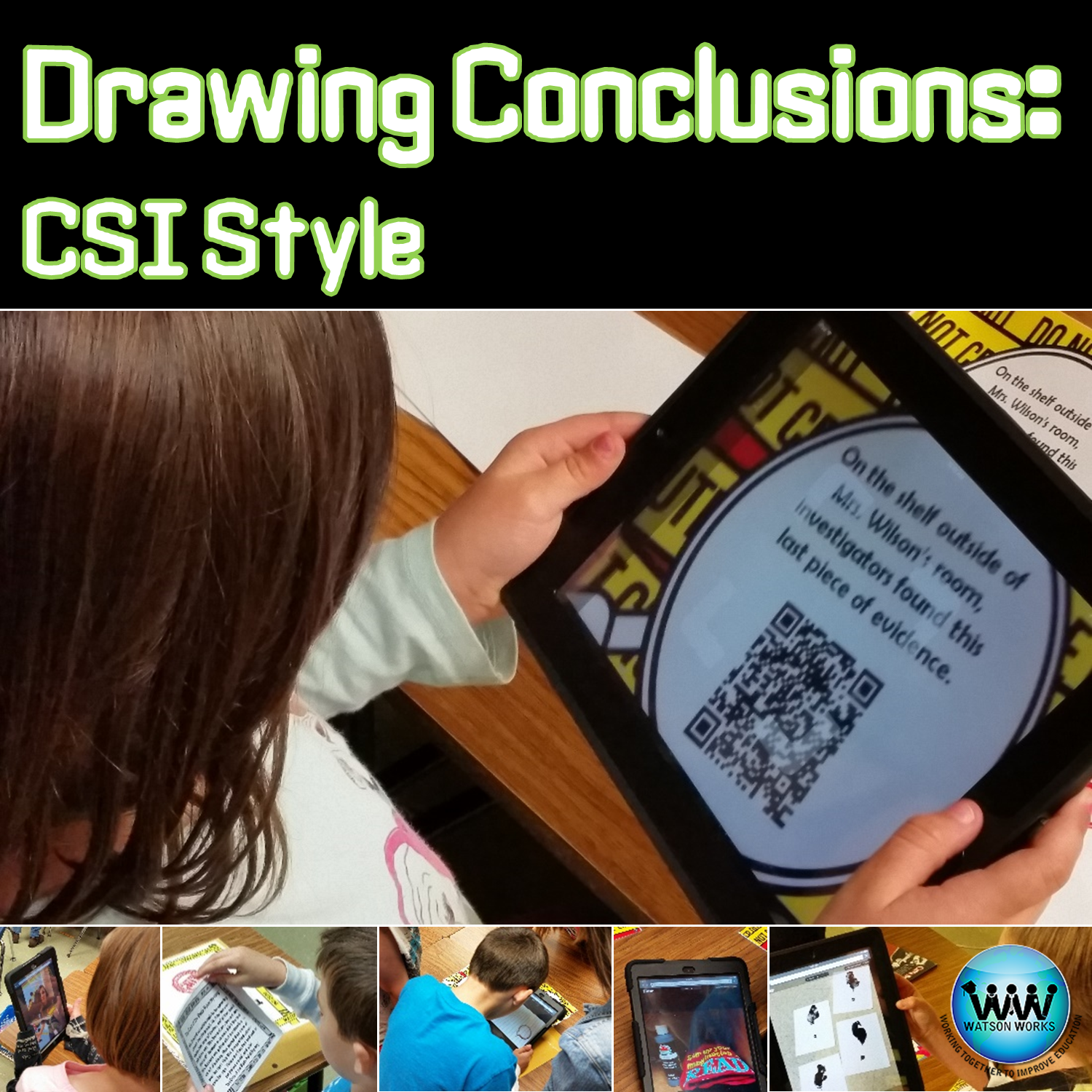 Drawing Conclusions Csi Style Watson Works