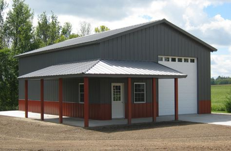 West Branch, MI, Garage, Miller Construction and Equipment