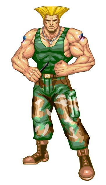 929aeb97a7b Street Fighter - Guile