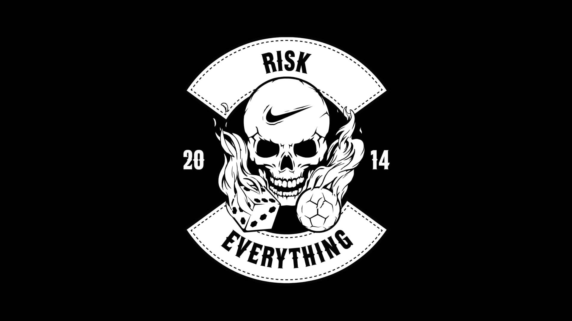 Repulsión medio litro trabajo  Nike Risk Everything | Nike football, Nike soccer, Animation