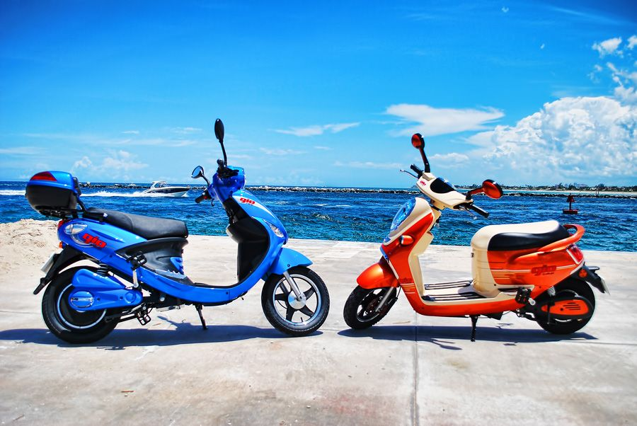 Gio Scooters Soaking In The Sun In Palm Beach Florida Down Payment Palm Beach Florida Ads