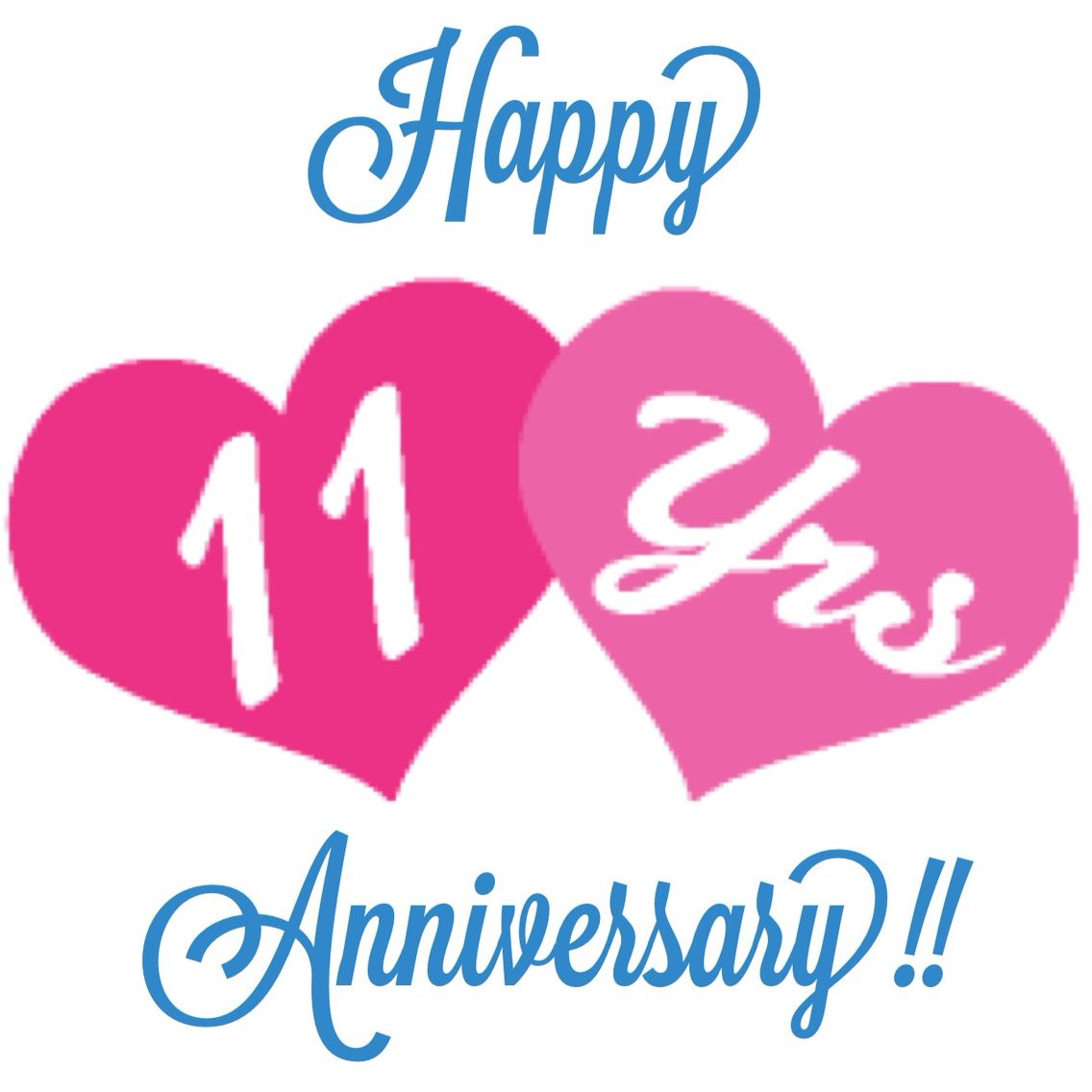 Happy Anniversary To Me Today Marks 11 Years Of Being A Passion Parties Consultant W Anniversary Cards For Wife Happy 11th Anniversary Happy Anniversary
