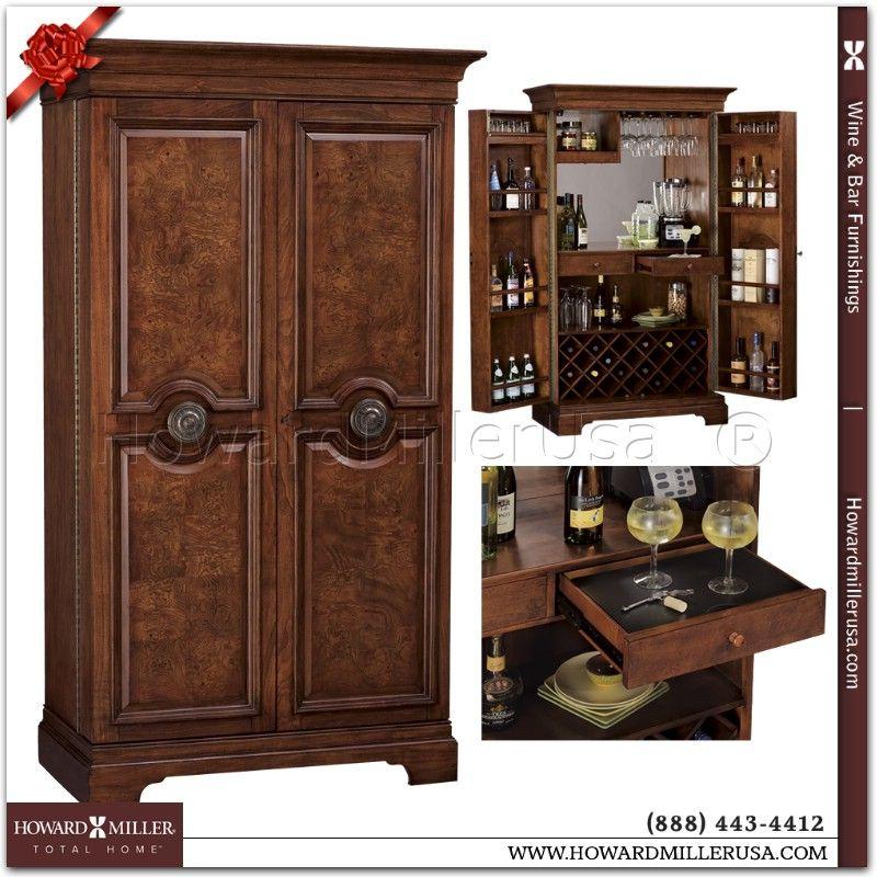 cherry barosa wine cabinet