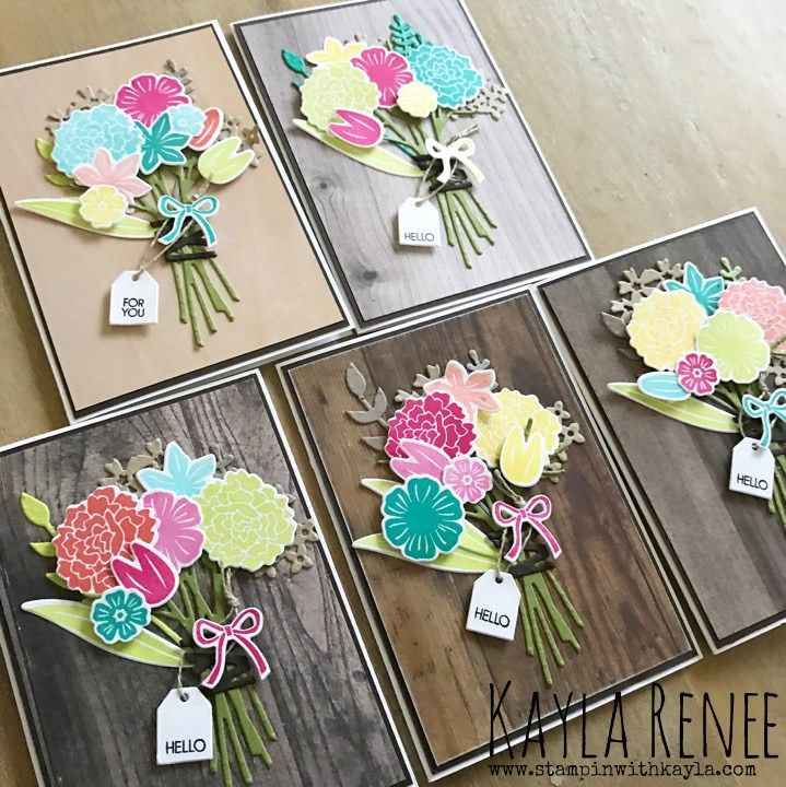 Hello Notecards Beautiful Bouquet Flower Cards Beautiful Bouquet Note Cards