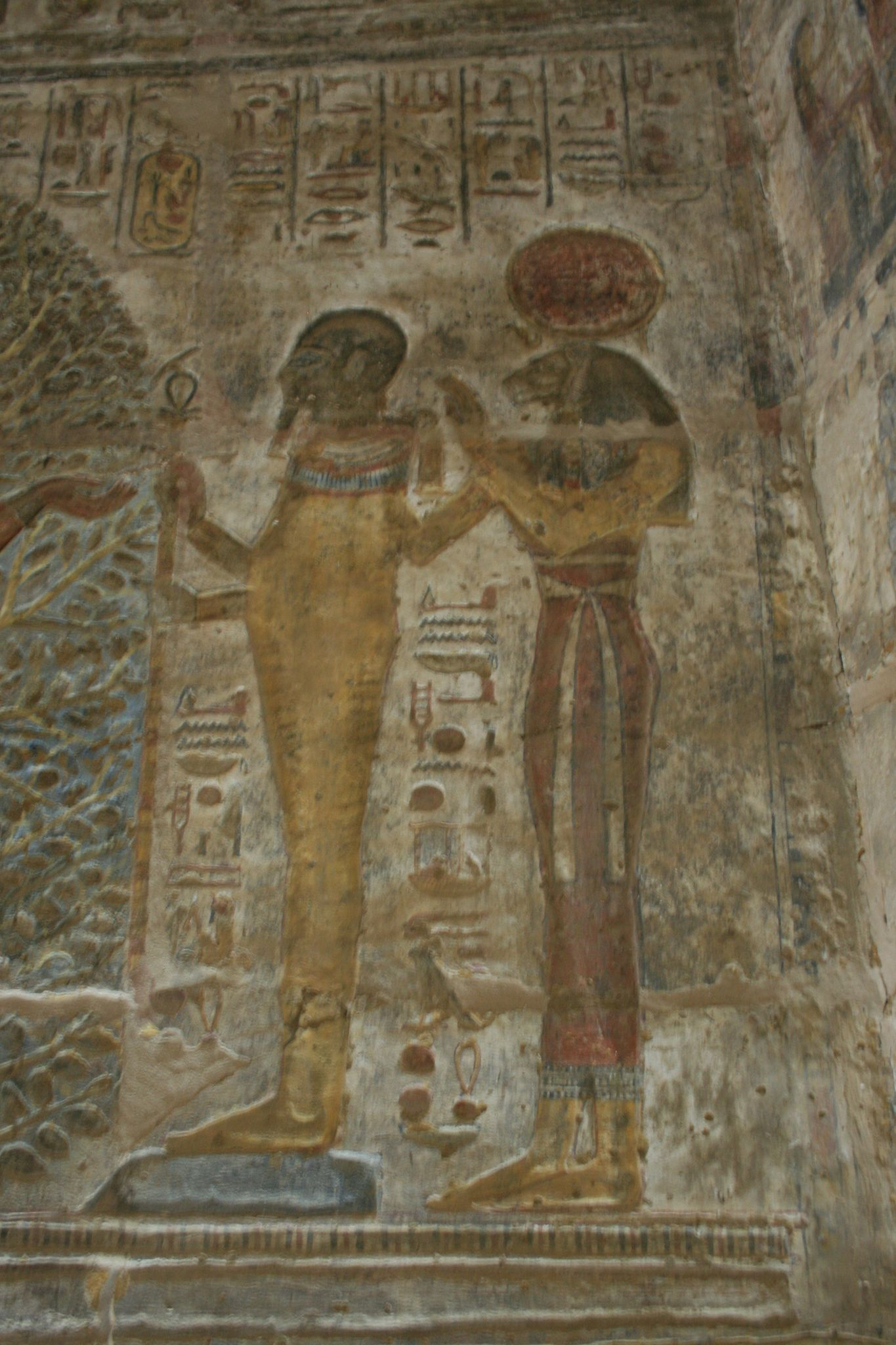 Beautiful pictures of gods and their temple - The Amazingly Beautiful Rock Cut Temple Of Derr Built By Rameses Ii Around 1280