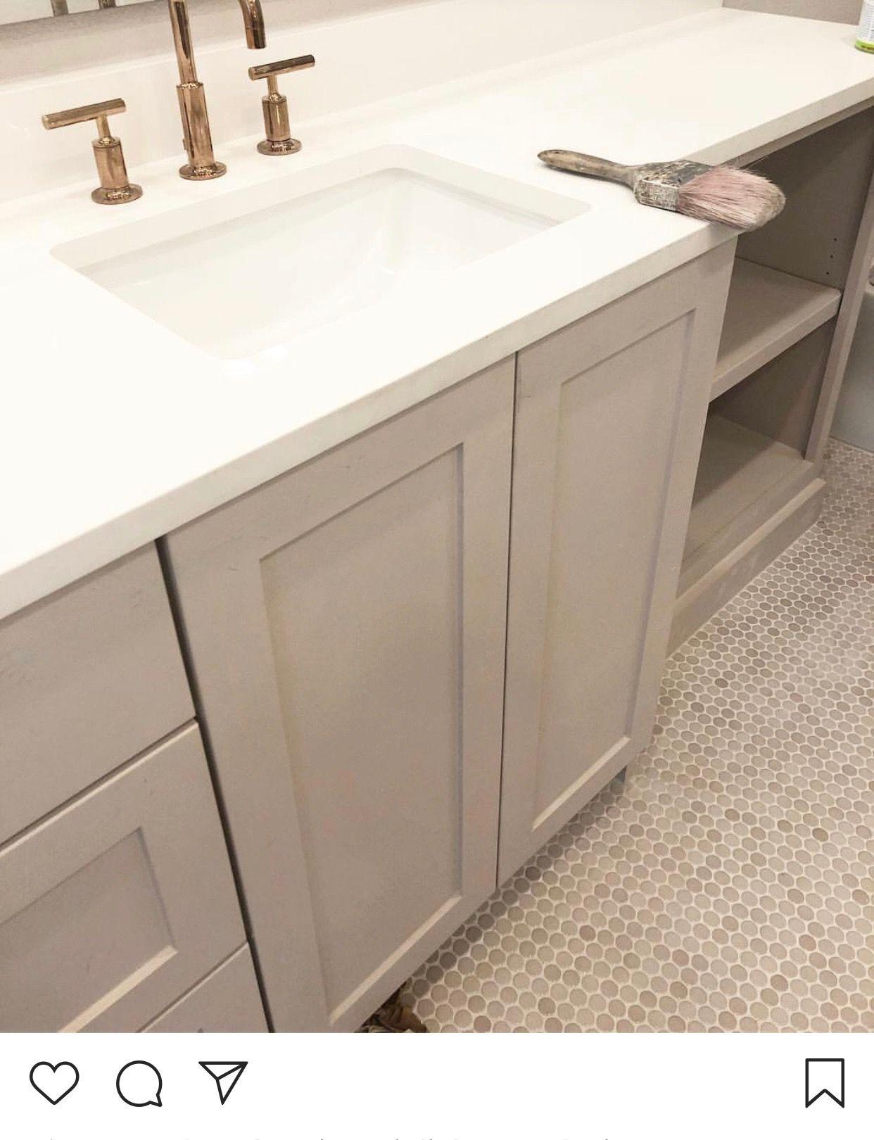 Floor cab and gold combo | Vanity, Bathroom, Bathroom vanity