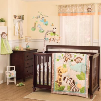 Carter S Jungle Play 4 Piece Crib Set Sears Canada