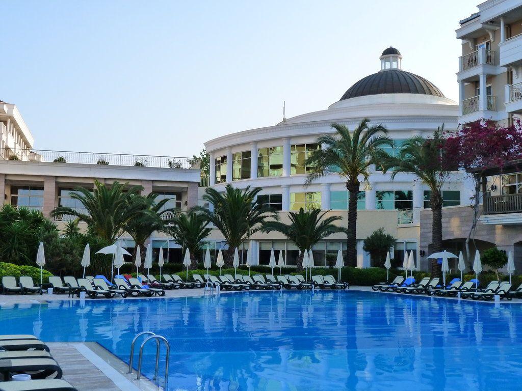 Trendy Aspendos Beach Hotel In Der Turkei Holidaycheck Award
