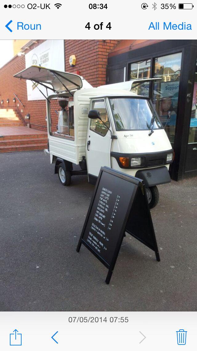 coffee van in london convertedcoffee latino www.coffeelatino