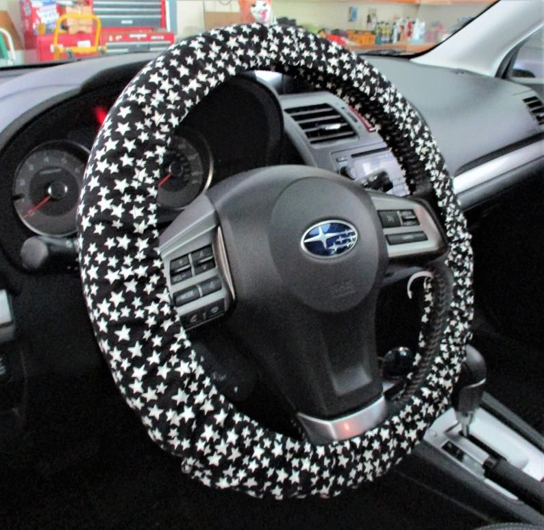 GePrint Sugar Skull Print Soft Steering Wheel Cover Women Girls Gift Car Wheel Covers Universal Fit Most Cars