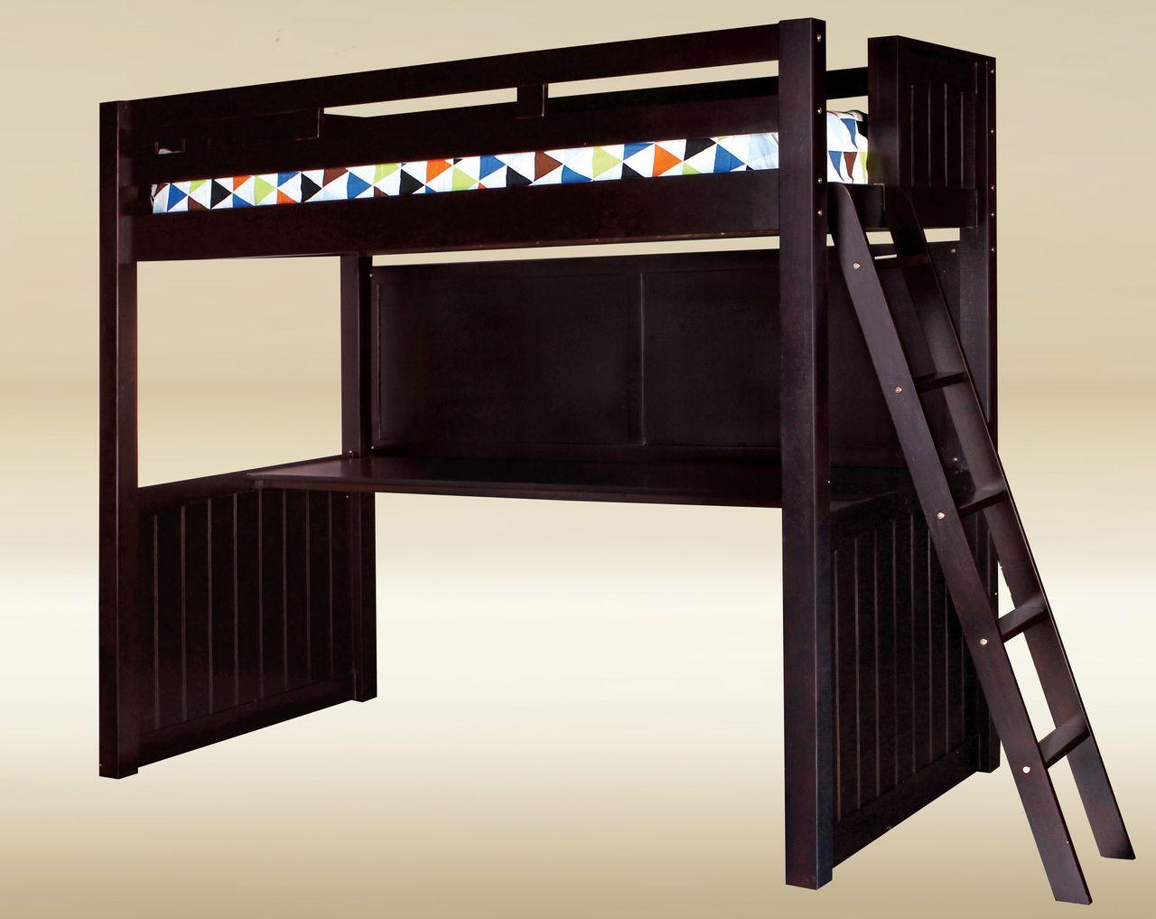 Newcastle Full Loft Bed With Desk Top Below Loft Bed Bed Desk Bed Loft bed with desk full size mattress