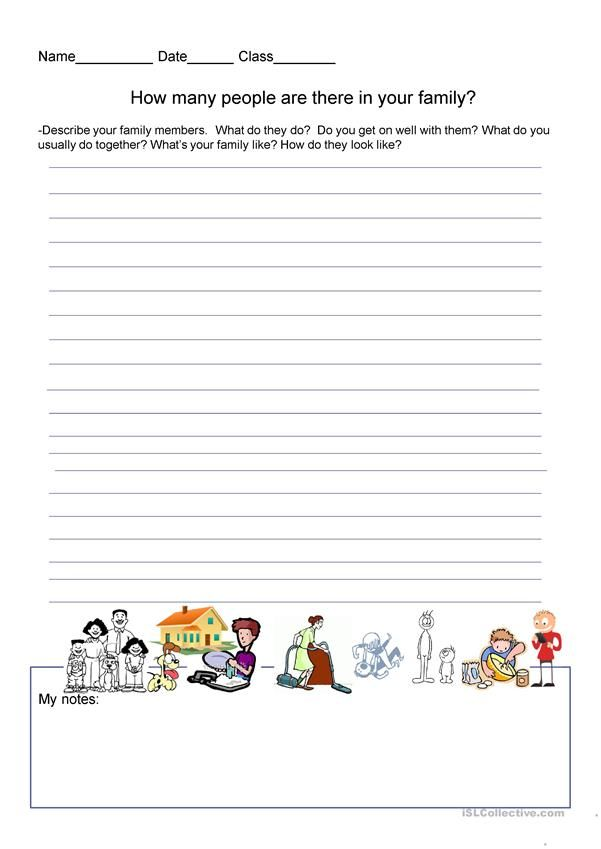 Writing exercise talk about your family esl pinterest writing exercise talk about your family ibookread PDF