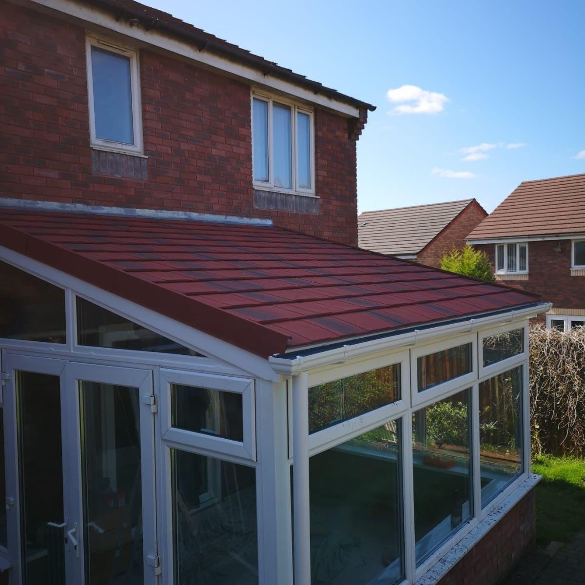 Leka Warm Roof Warm Roof Double Glazing Glass Roof