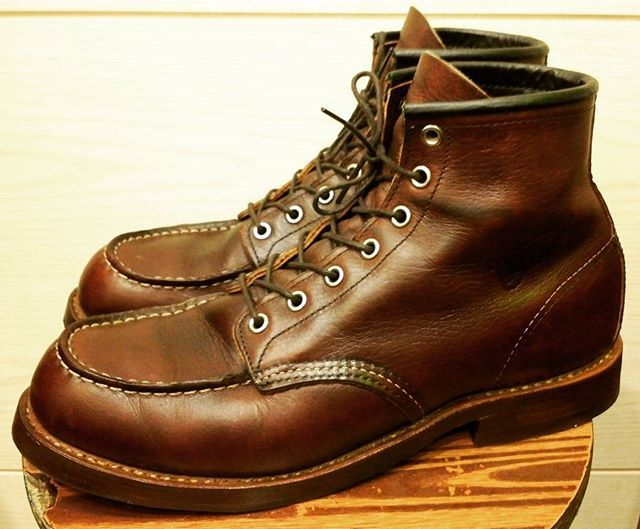 Redwing Hamburg 99+ red wing moc toe 875 resole 3 youtube. resoling red wing shoes