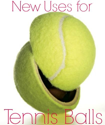 Discover Six New Uses For Tennis Balls They Re Not Just For The Court Tennis Balls Tennis Ball Tennis