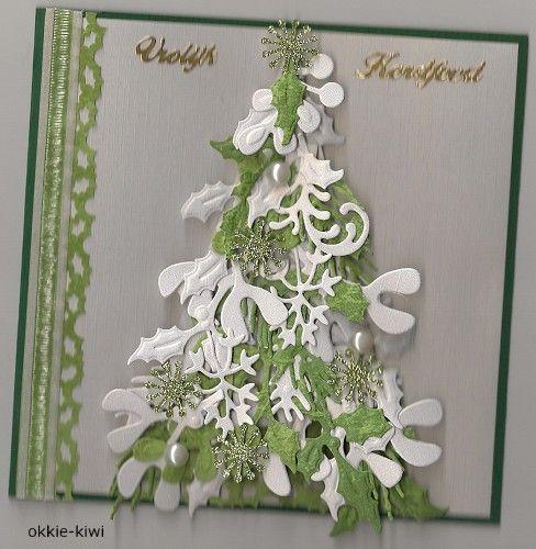 Voorbeeldkaart - kerstboom - Categorie: Overige - Hobbyjournaal uw hobby website