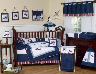 Baby boy bedding idea