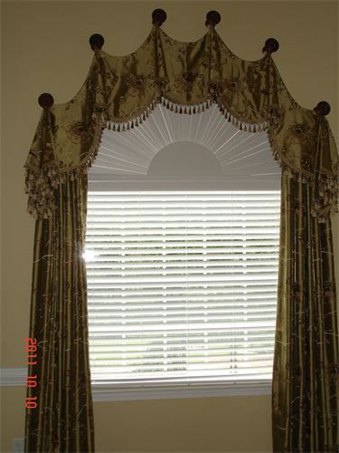 Arch Valance With Panels