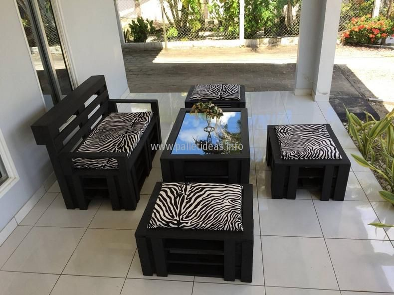 pallet patio furniture decor. Pallet Ideas, DIY Wood Furniture, Crafts, Decor, Garden Ideas And Other Projects. Patio Furniture Decor