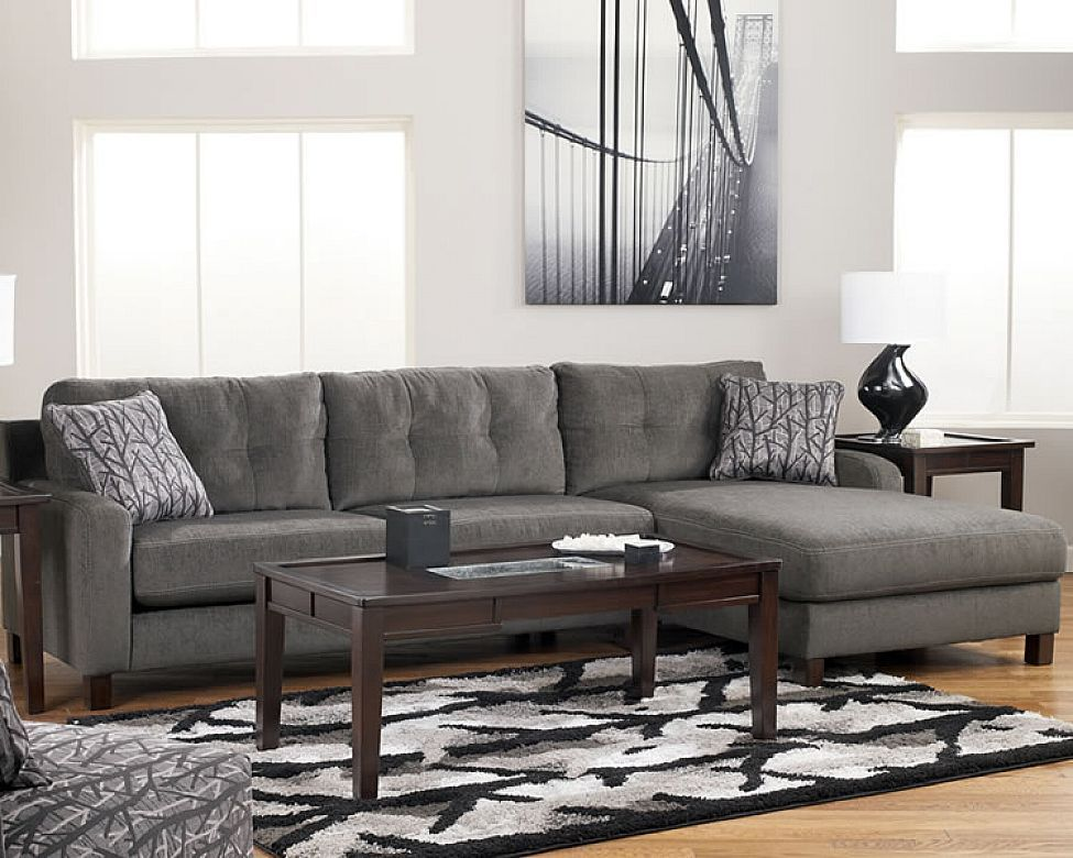 Small L Shaped Fabric Sectional Sofa Sofas Furniture Living