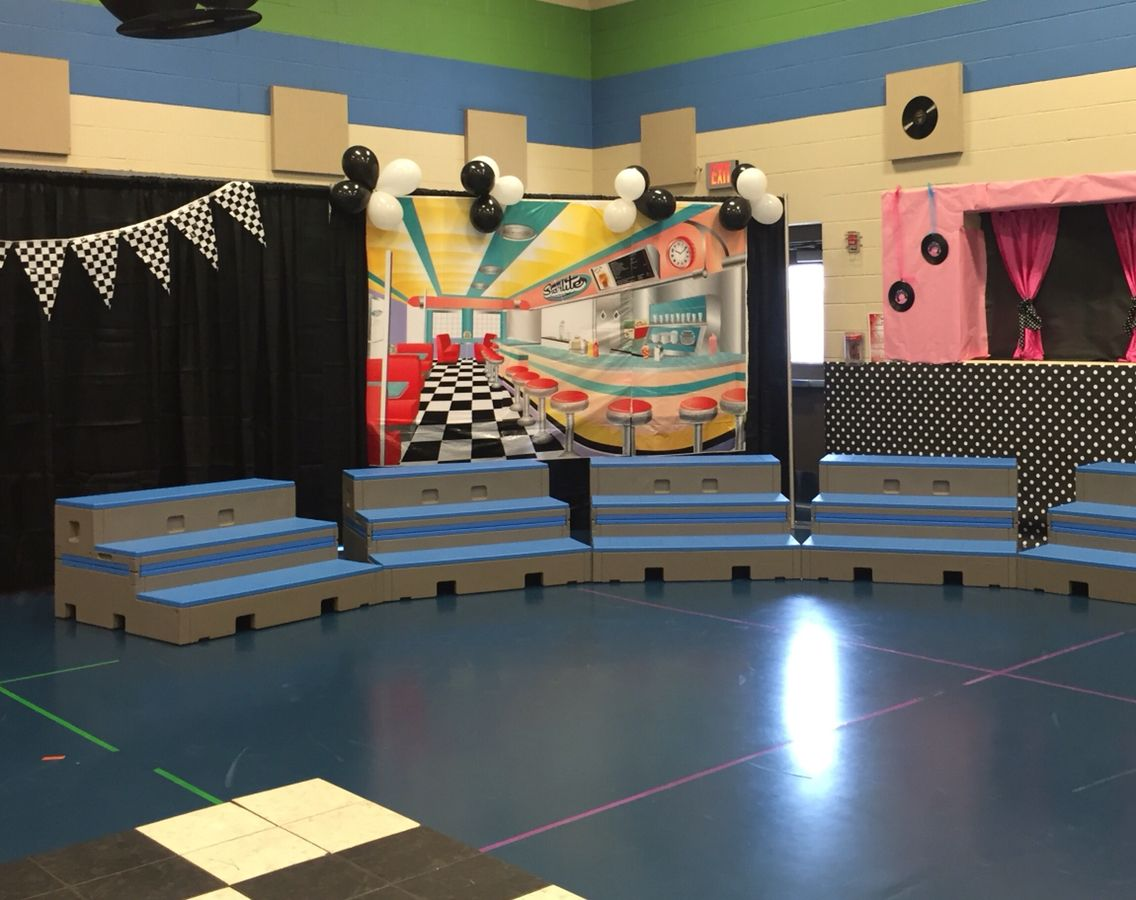 Cafe Scene and StaGe for kids program