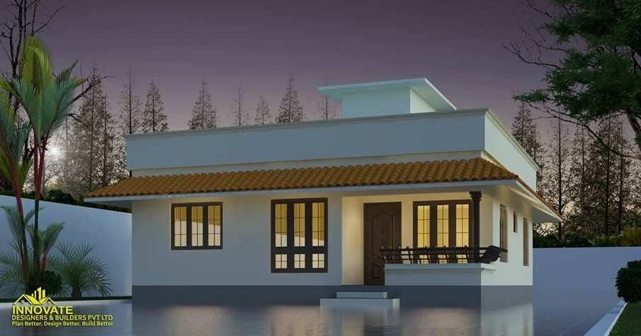 Latest Low Cost 1073 Sqft Kerala House Design And Free Plan Budget 3 Bedroom Kerala Home Plans Free Kerala House Design Free House Plans Model House Plan