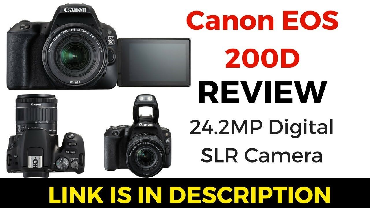 Canon EOS 200D Review | BEST Dslr to Buy | Best Camera for