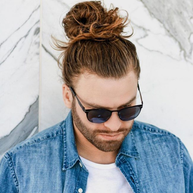 21 Loose And Messy Man Bun Hair Styles Man Bun Hairstyles Long Hair Styles Men