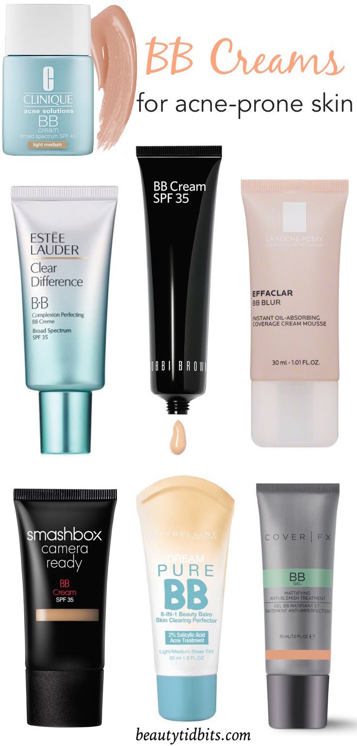 the best bb creams for acne prone skin drugstore to high end