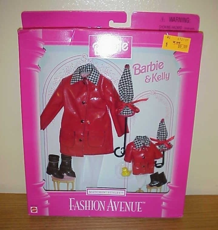 1997 Barbie Kelly Fashion Avenue Matchin Styles Fashion