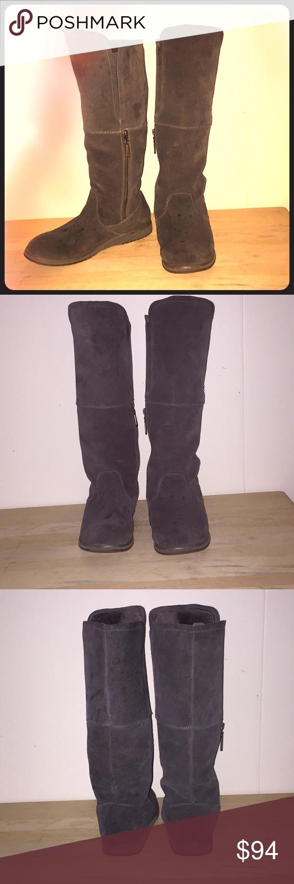 33cd1b3e714 Emu Australia 100% Merino Wool Boots Ugg Style Zip Side zip ...