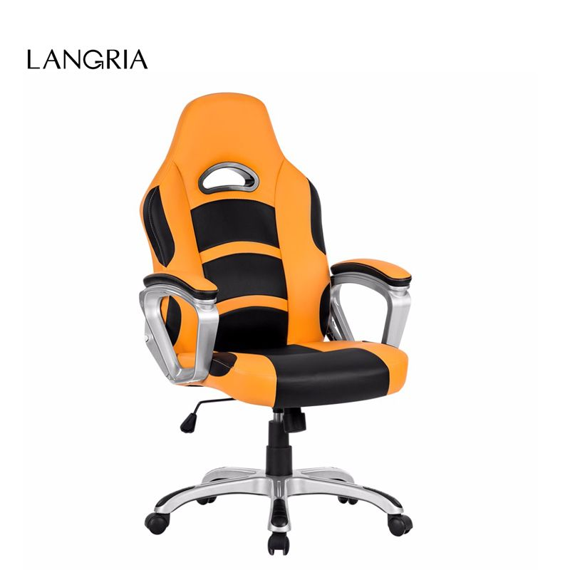 Executive Office Chair Quality Directly From China Brands Suppliers Langria Brand Ergonomic High Back Faux Leather
