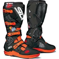Photo of Sidi Crossfire 3 Srs Jp61 Motocross Stiefel Schwarz Orange 46 Sidi