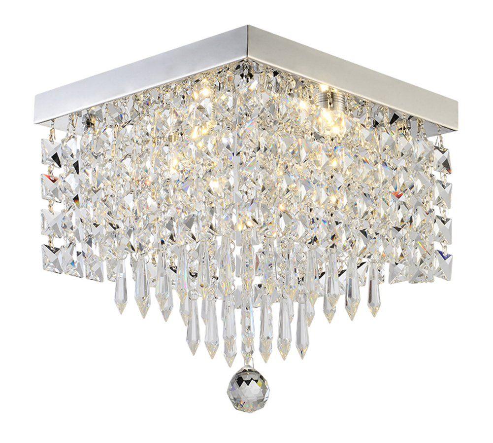 Noxarte Modern Design Crystal Chandelier Led Ceiling Light K9