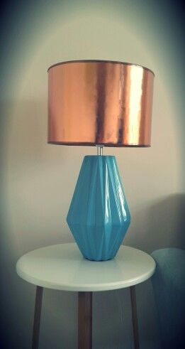 New copper lamp :-)