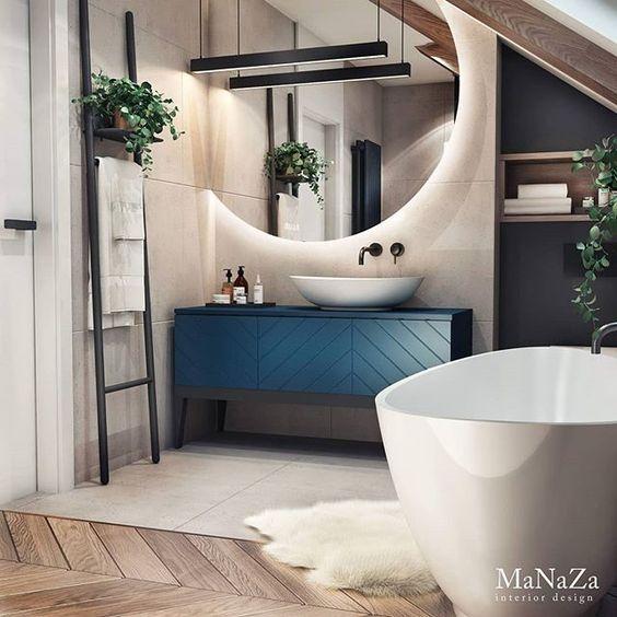 Urządzamy łazienkę w kolorze roku 2020 - Classic B