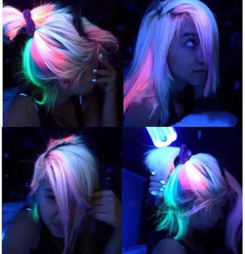 um pouquinho de um produto que não é novo, porém acho que não é muito conhecido por ai… pra falar a verdade eu já vi muitas pessoas de cabelos coloridos ...