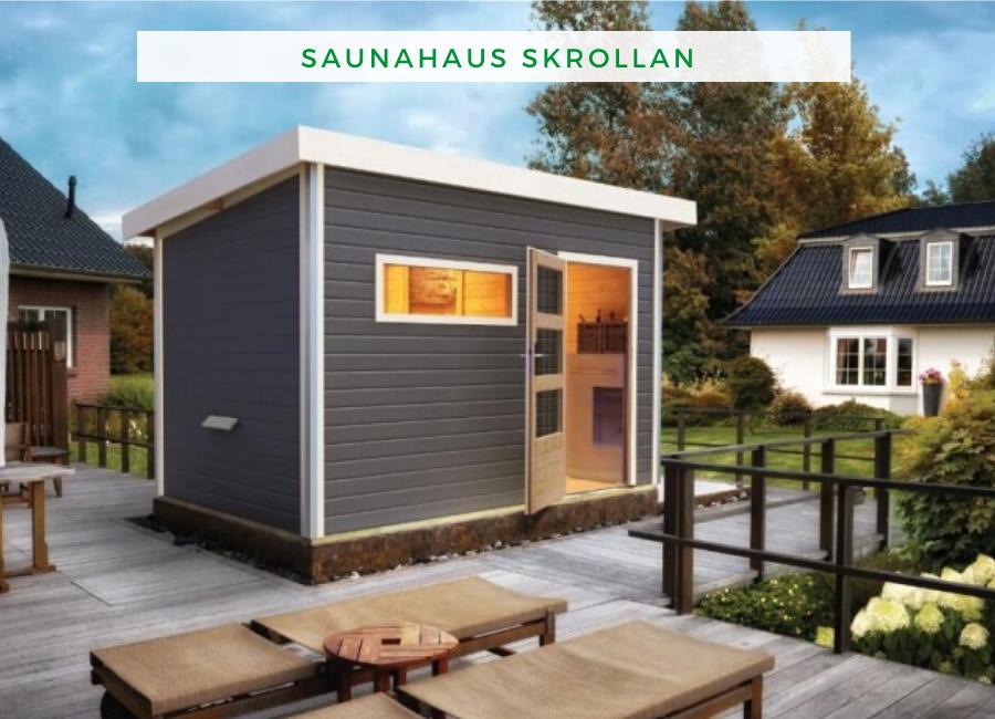Sauna Design Saunahaus Skrollam Saunahaus Haus Saunahaus Garten