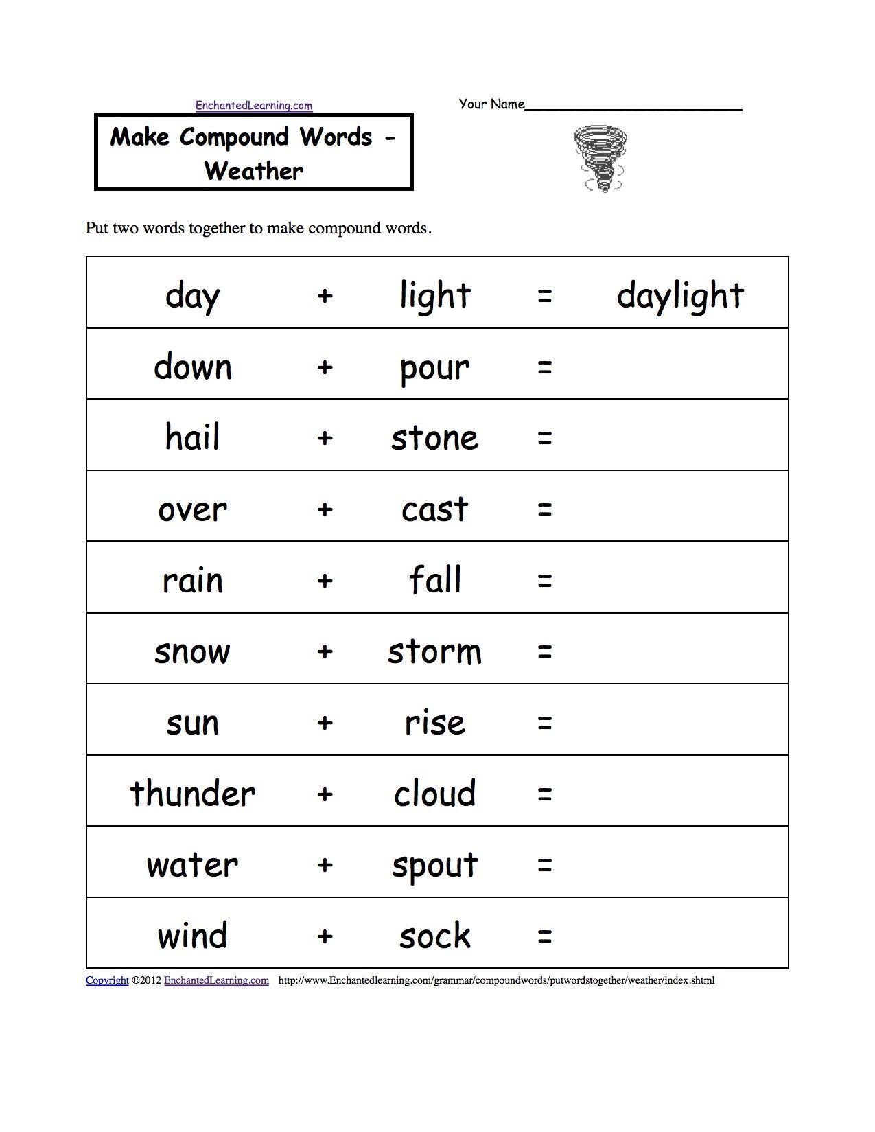 3rd Grade Grammar Worksheets