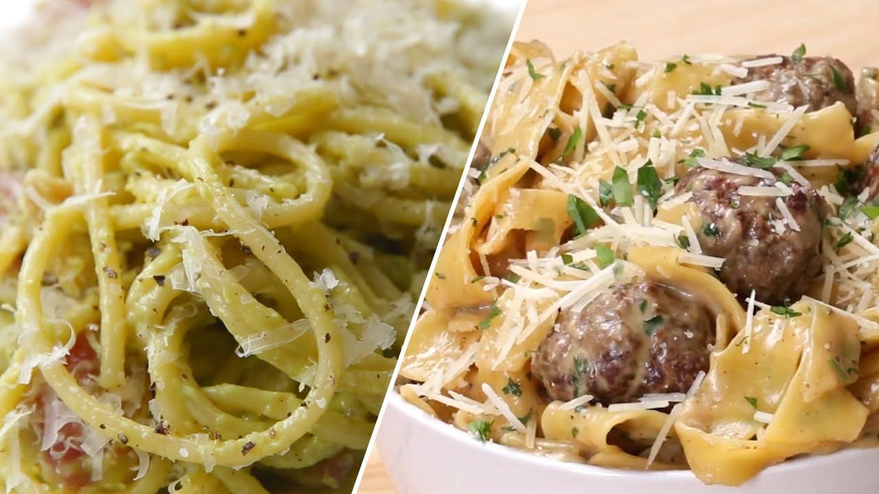 Creamy Satisfying Pasta Recipes Youtube Pasta Recipes Pasta