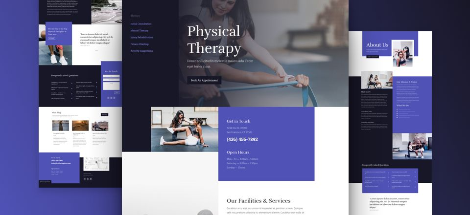 Physical Therapy Therapy Website Design Physical Therapy Physics