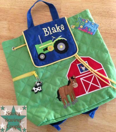 7b590238bd3 Posy Lane~Stephen Joseph Toddler Backpack!  personalized,  toddler  Stephen  Joseph