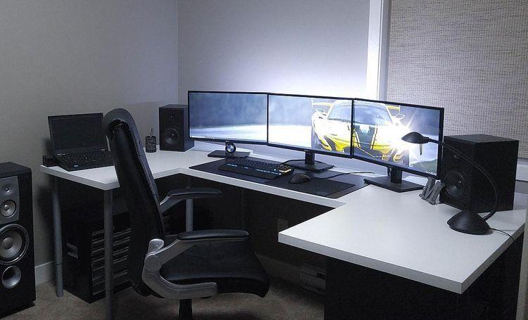 Gaming Desks Gaming Schreibtisch Schreibtischideen Und Pool Selber Bauen
