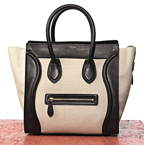 My love for black and white manifested in a tote