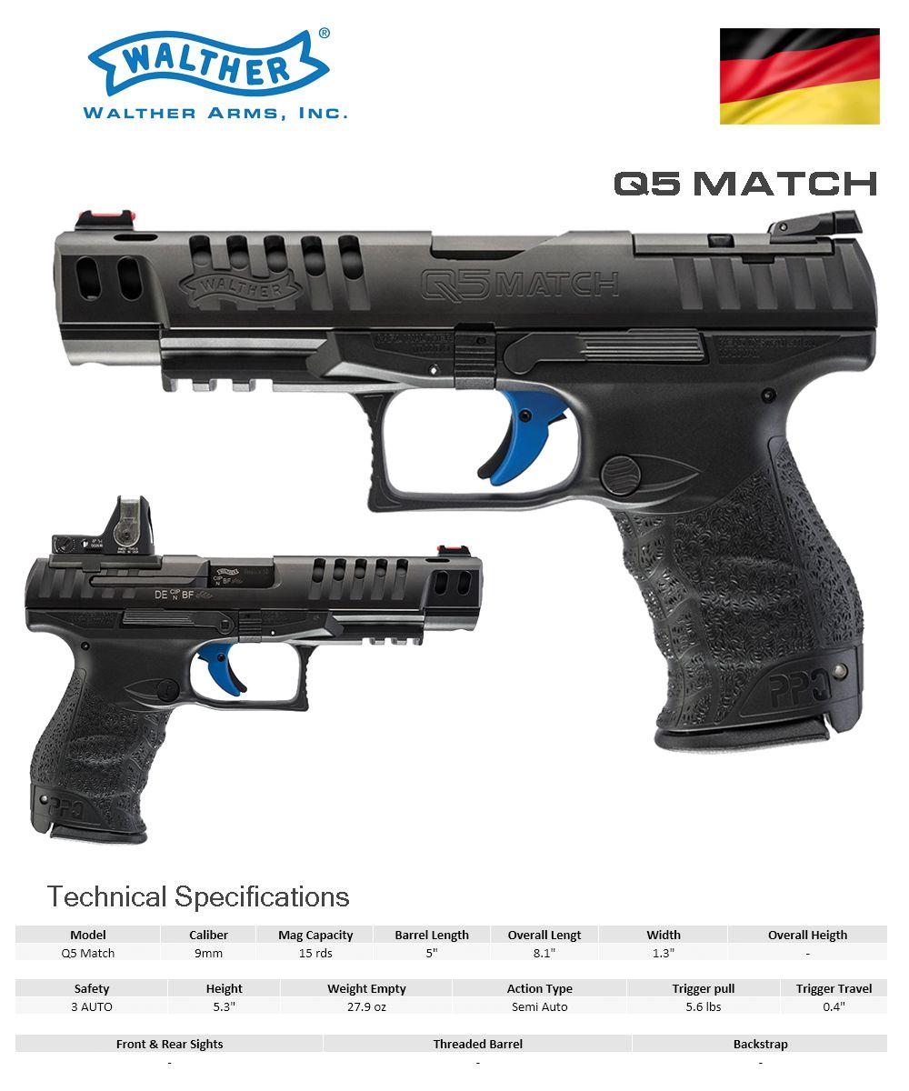 walther q5 match armory pinterest guns firearms and hand guns