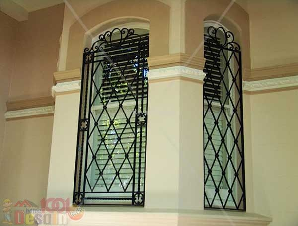 Desain Jendela Dengan Teralis Mewah Dengan Gambar Desain Rumah