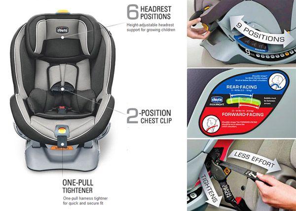 Chicco NextFit Convertible Car Seat Review   Car seats, Convertible