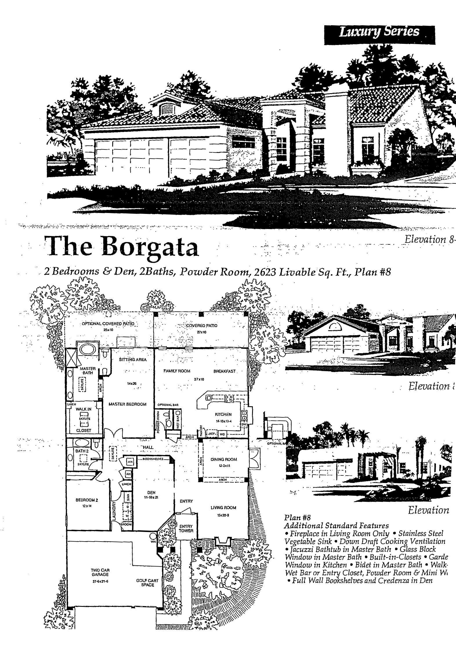 The Borgata Floorplan In Saddlebrooke Arizona Floor Plans Arizona Tucson